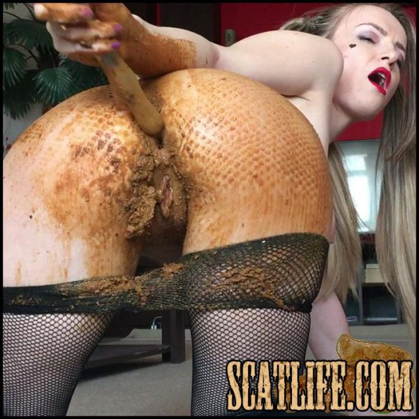Happy Shitty Day with Harley Quinn – JosslynKane – Scatting Solo – Shitting girls (17/02/2017)