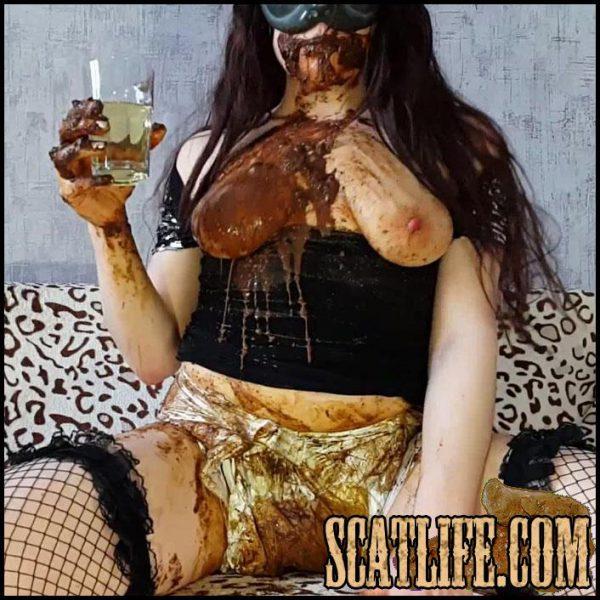 Diaper & Condom – Anna Coprofield – Kaviar Scat, Poop Smear, Full HD 1080 (28/03/2017)