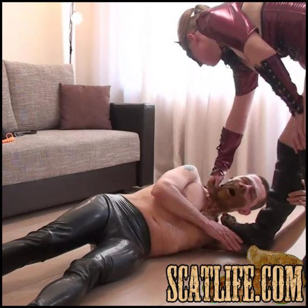 Scat Madame Uses Her Toilet Slave – Scatlovers – Femdom Scat, Shitting, Full HD 1080p (24/03/2017)
