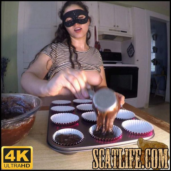 Shit n' Bake You A Batch of Poop Brownies – LoveRachelle2 – 4k Ultra HD (Poop Videos) 22/08/2017