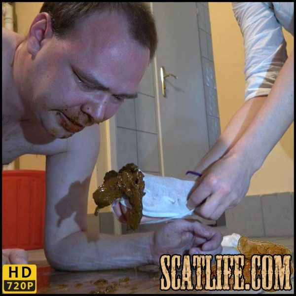 Slaves stable – Fresh shit for Ulf – scat-movie-world – HD 720p (human toilet, domination) 09/02/2018