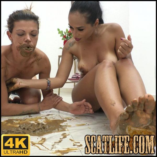 Scat Girls – Feeding my slave – NewMFX Scat – 4K Ultra HD – April 20, 2018