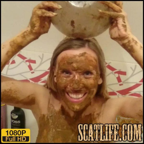 Scat – Extreme methods of personal hygiene – Part 2 – Brown wife – Full HD 1080 (May 20, 2018)