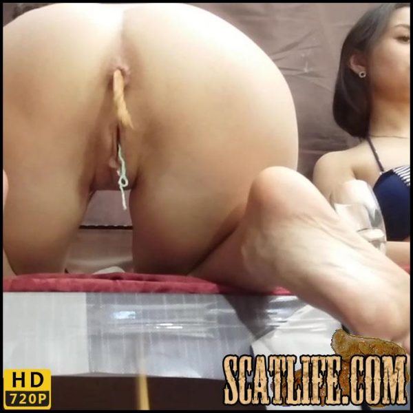 Scatting Domination – 2 mistresses tore my mouth and crapped into it – Smelly Milana – HD 720p (May 1, 2018)