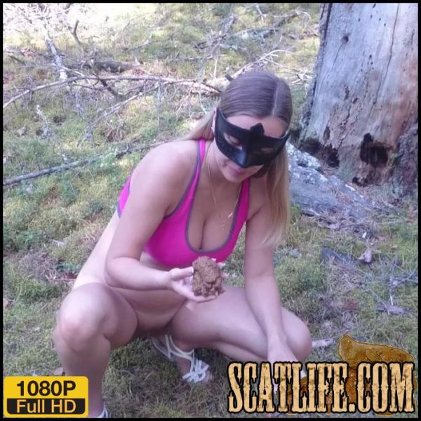Amateur scat – Unity with nature – Brown wife – Full HD 1080 (September 13, 2018)
